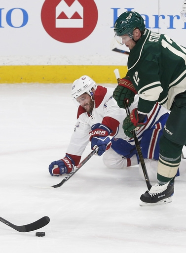 Niederreiter gets 2 goals as Wild romp past Canadiens 7-1 The Associated Press