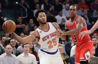 Knicks beat Bulls with big games from Anthony, Rose, Noah