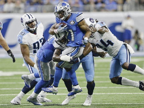 Not even Ameer Abdullah and Theo Riddick are safe in Lions running game