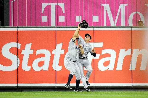 Comparing Brett Gardner and Jacoby Ellsbury's outfield defense according to Statcast