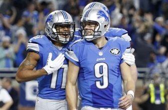 Still Improving, Lions Must Pay the 28-Year-Old Stafford