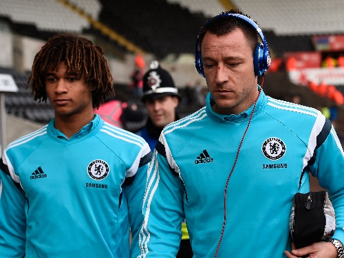 Nathan Ake could replace John Terry for Chelsea's Premier League clash with Leicester