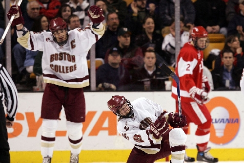 """PREVIEW: Boston College hockey looks to defend """"our house"""" at Agganis Arena vs. BU"""