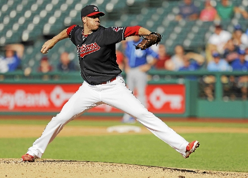 Indians, McAllister agree to $1.8 million contract for 2017