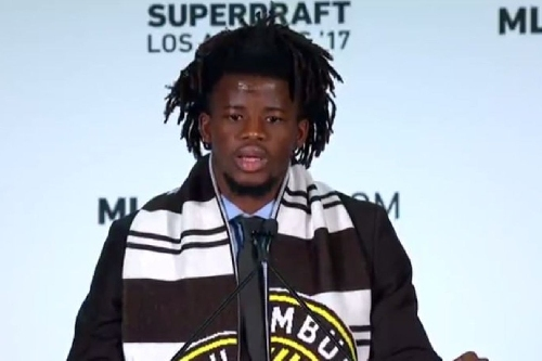 Columbus Crew SC select defender Lalas Abubakar with fifth-overall pick