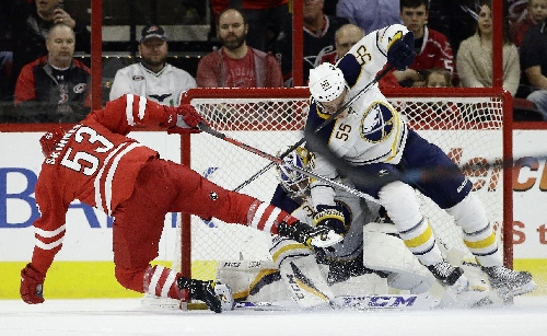 Skinner keeps Canes rolling at home with win over Sabres The Associated Press