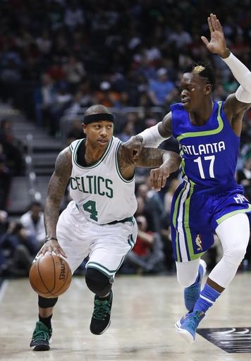 Thomas steadies Celtics, Horford triumphant in return home The Associated Press