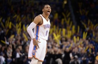Russell Westbrook becomes second player to average triple-double through 41 games