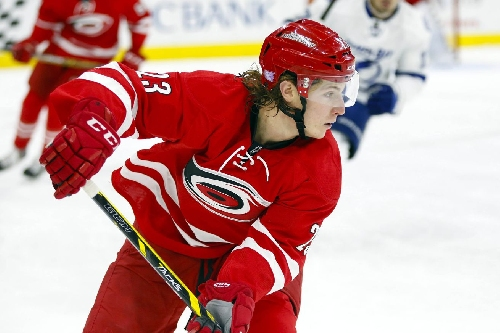 Watch: Brock McGinn Scores Second Goal of the Night, Gives the Hurricanes a 5-2 Lead