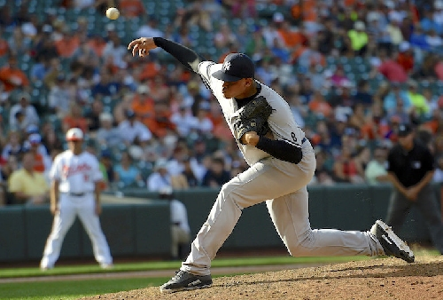 Dellin Betances, Yankees squabbling over money ... again
