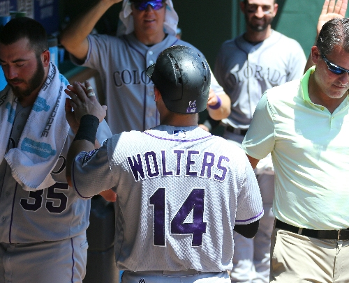 Rockies betting Tony Wolters, Tom Murphy will grow up quickly behind the plate