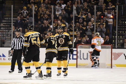 Bruins vs Flyers 1/14/17: RANK 'EM!