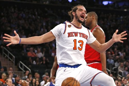 Is Joakim Noah finally starting to turn the corner for Knicks?