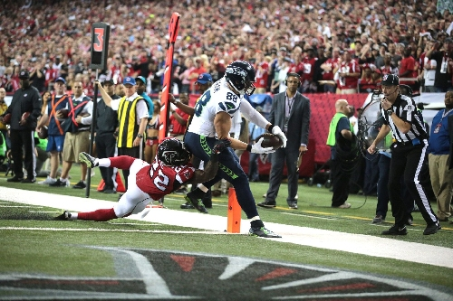 Watch: Jimmy Graham TD caps 14-play opening drive for Seahawks vs. Falcons