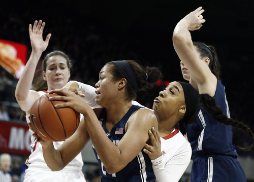 UConn women 91st straight win to break their own NCAA record The Associated Press