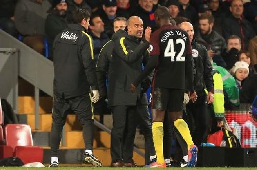 Man City boss Guardiola opens up on Yaya Toure future and Champions League squad