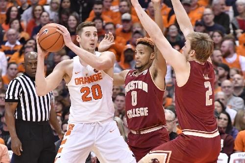 Syracuse 76 - Boston College 53: Orange steamroll Eagles