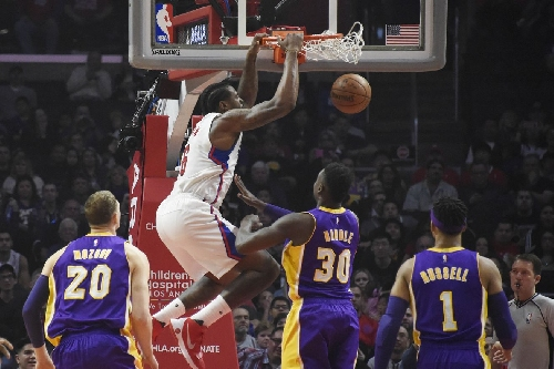 Lakers vs. Clipper Final Score: DeAndre Jordan dunks all over the Lakers in 113-97 loss