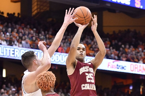 Syracuse's 2-3 zone much improved from first meeting with Boston College