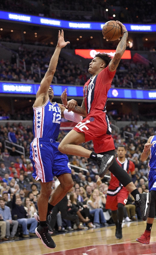 John Wall's 25 points, Wizards beat 76ers 109-93 The Associated Press