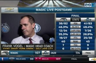 Frank Vogel: 'There's a lot of positives with this game'
