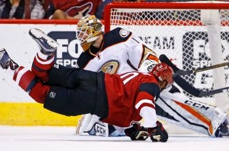 Coyotes offense vanishes in shutout loss to Ducks
