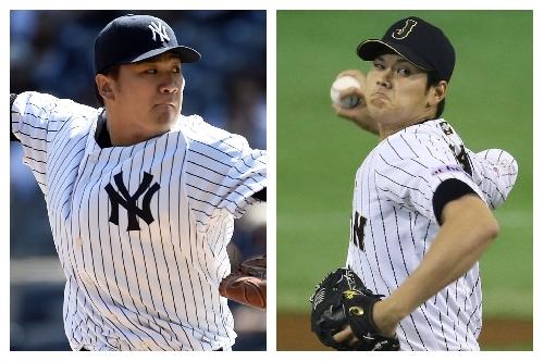 Yankees' Masahiro Tanaka, Japan's 'Babe Ruth' workout together