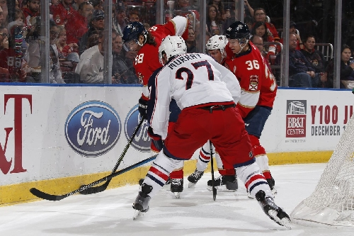 Trocheck, Jagr power Panthers to 4-3 win over Blue Jackets
