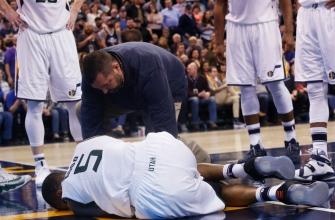 Report: Jazz get good news on Rodney Hood's knee injury