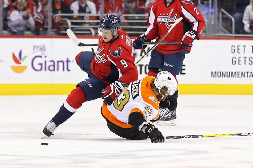 Flyers at Capitals recap: Hockey team tumbles into bye week