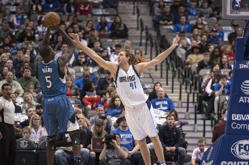 Wolves Fall Back to Earth, Lose to Mavericks 98-87