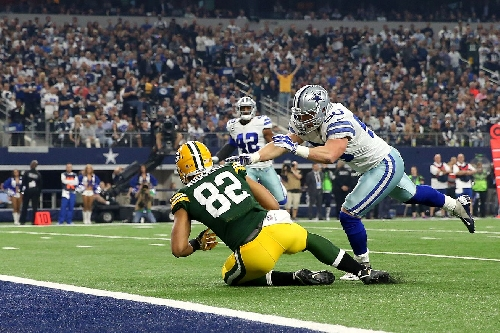 Packers-Cowboys Update: Green Bay takes 7-3 lead on Richard Rodgers touchdown