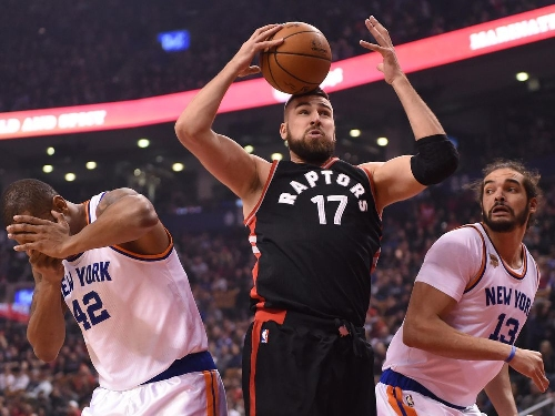 Toronto Raptors blitz lethargic New York Knicks starters, cap four-game homestand with blowout win