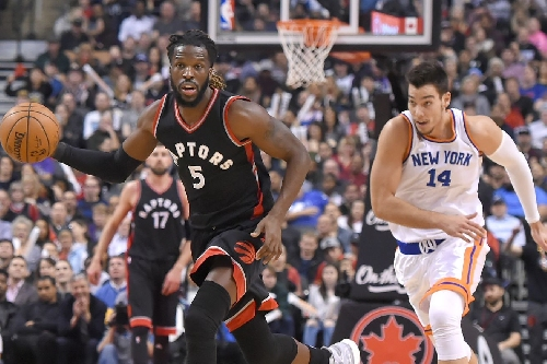 Raptors trash the Knicks, 116-101