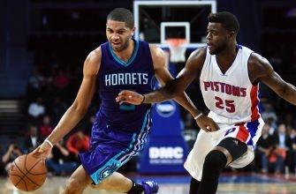 Reggie Bullock will start at guard for the Pistons
