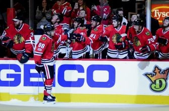Surging Wild beat Blackhawk 3-2 for Western Conference lead