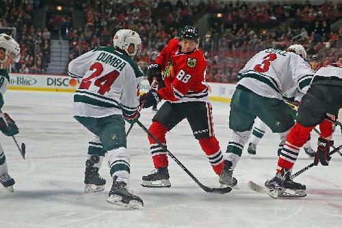 Blackhawks vs. Wild final score 2017: Chicago falls 3-2 despite Kane's effort
