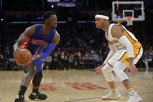 Lakers fall to Pistons, 102-97
