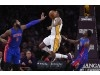 Final: Lakers' improved energy not enough in 102-97 loss to Pistons