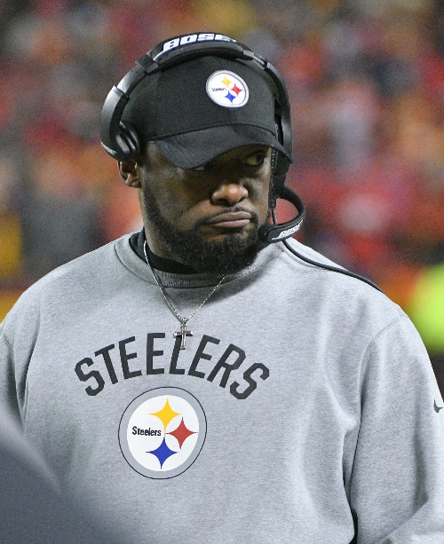 Steelers' Mike Tomlin caught using profane Patriots remark in Antonio Brown video