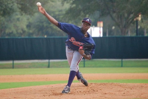 An Interview with Braves pitching prospect Touki Toussaint
