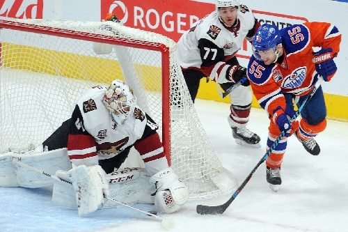 Arizona Coyotes face Edmonton Oilers with much to prove