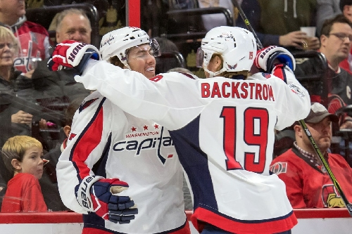 Nicklas Backstrom Named NHL's First Star of the Week