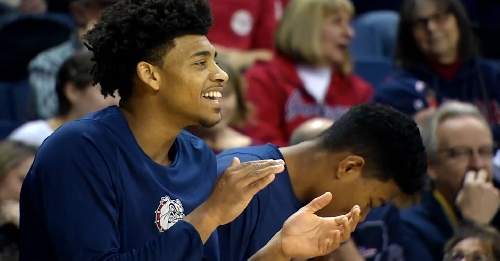 Zags men's basketball moves up to #4 in latest AP Top 25 Poll