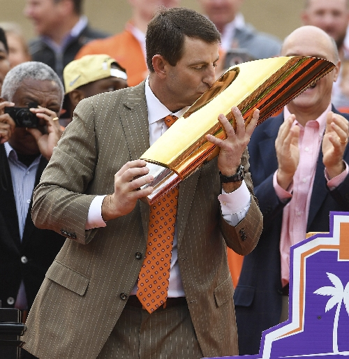 Dabo Swinney: 'Only God can bring two guys together from Pelham and Atmore'