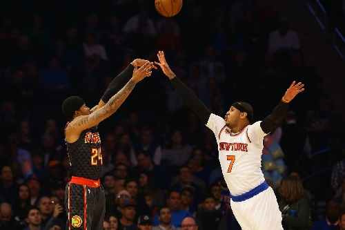 Hawks Battle In New York, Beat Knicks 108-107