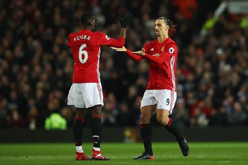 Zlatan Ibrahimovic opens up about pressure on Manchester United team mate Paul Pogba