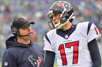 Houston Texans part ways with offensive coordinator George Godsey