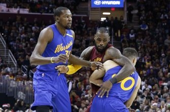 LeBron James doesn't see Warriors as rivals
