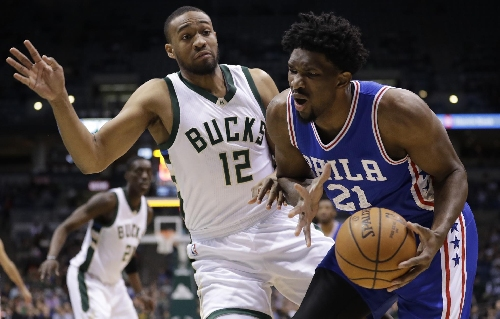 Embiid strong in 4th quarter as 76ers beat Bucks 113-104 The Associated Press